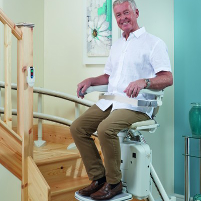 Custom Curve Stair Lifts